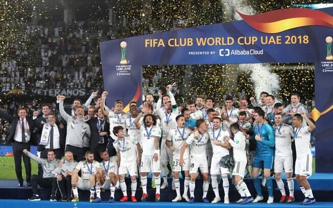 O Real Madrid é o maior campeão do Mundial de Clubes da Fifa