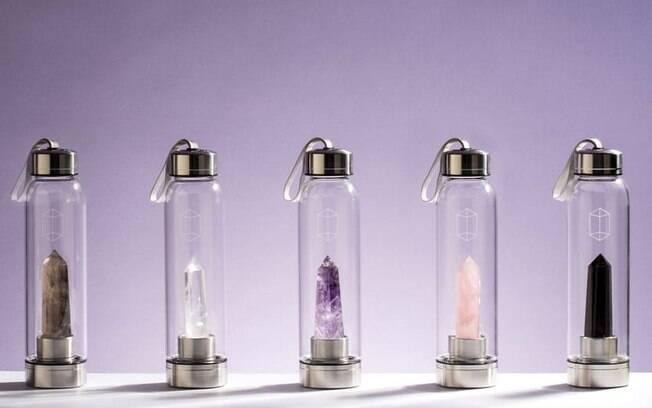 Água com cristal: energize seu corpo com essa técnica incrível