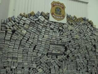 Cocaína que chegava ao Brasil vinha do Peru e da Bolívia