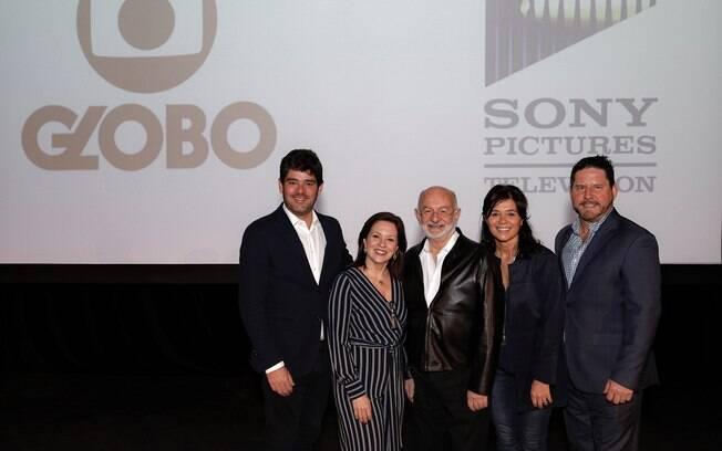 Executivos da Globo e Sony firmam acordo para produção de séries voltadas ao mercado internacional
