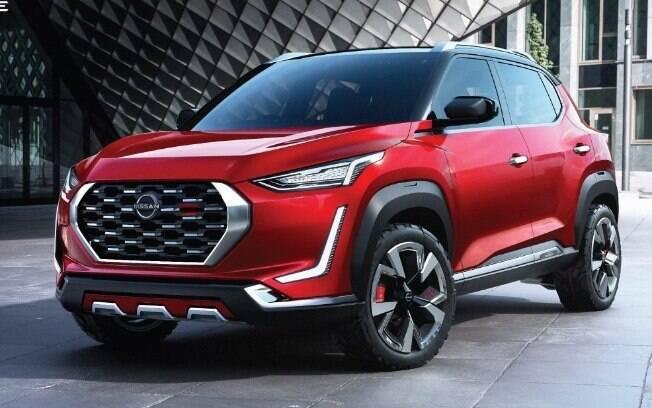 Nissan Magnite: ainda na versão conceitual será um SUV de baixo custo que, por enquanto, está confirmado apenas no mercado asiático