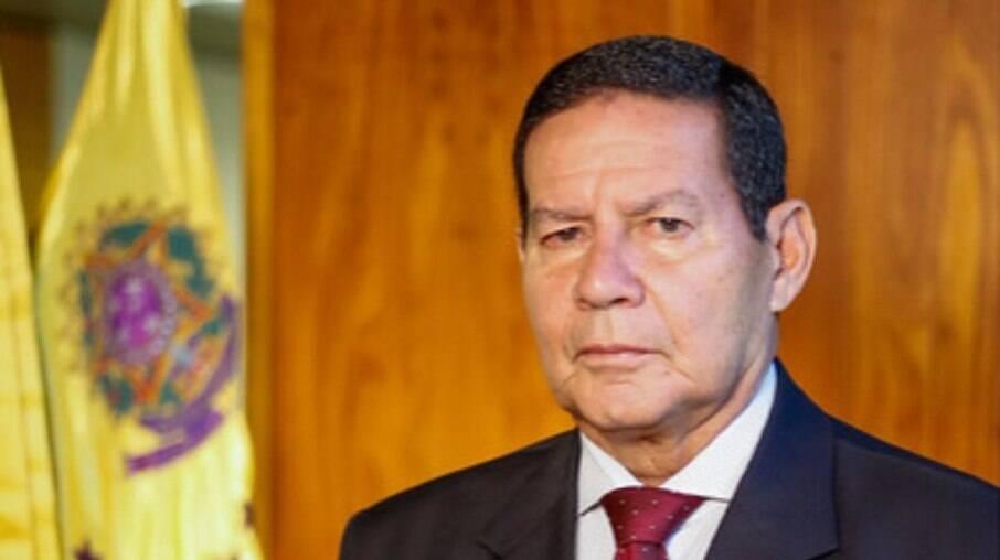 Vice-presidente da República Hamilton Mourão