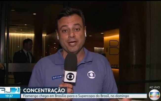Eric Faria%2C repórter da Rede Globo