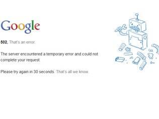 Alguns usuários do Gmail enfrentam instabilidade