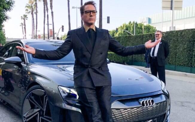 """O Audi e-Tron GT é um dos carros de Tony Stark no filme """"Vingadores: Ultimato"""""""