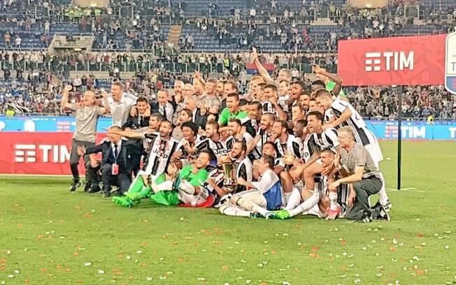 Juventus é a campeã da Copa da Itália 2016-17