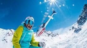Esquiar ajuda a amenizar a ansiedade