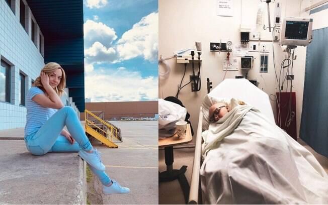 A tradutora canadense ignorou suas crises de tosse por dois meses antes de ser diagnosticada com câncer avançado