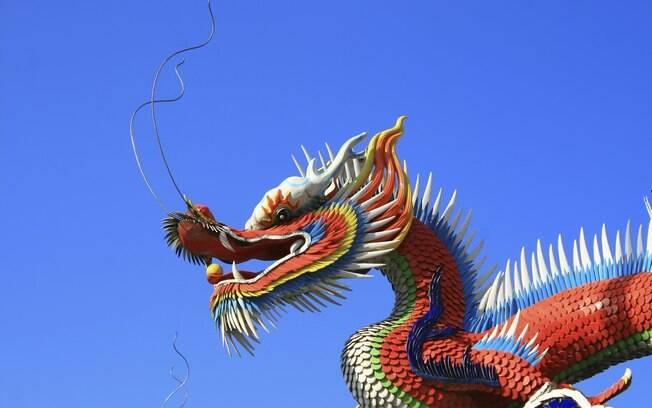 O Ano do Dragão se inicia em 23 de janeiro e termina no dia 09 de fevereiro de 2013: os orientais consideram o Ano do Dragão bom casar ou ter filhos