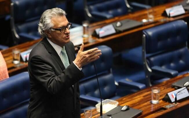Ronaldo Caiado (DEM), governador de Goiás, se reuniu com Paulo Guedes para discutir a reforma da Previdência