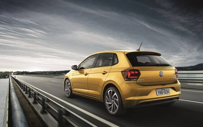 Com motor TSI, o Polo atinge a melhor relação entre desempenho e consumo de combustível entre as versões disponíveis