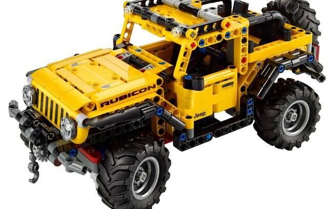 Com 665 peças, kit Lego Technic do Jeep Wrangler Rubicon chega ao mercado em janeiro