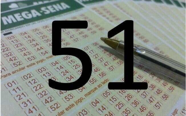 O 51 é o vice-campeão de sorteios e já saiu 202 vezes entre 1996 e o dia 23 de dezembro de 2015, data do levantamento do iG. Foto: Divulgação