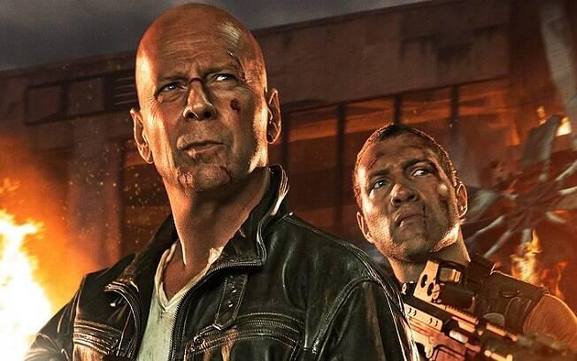 Bruce Willis, ícone no mundo dos carecas, em