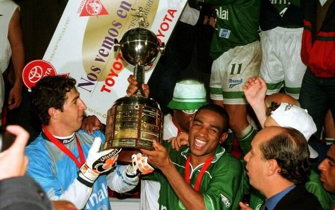 Globo reprisou o título do Palmeiras na Libertadores de 1999