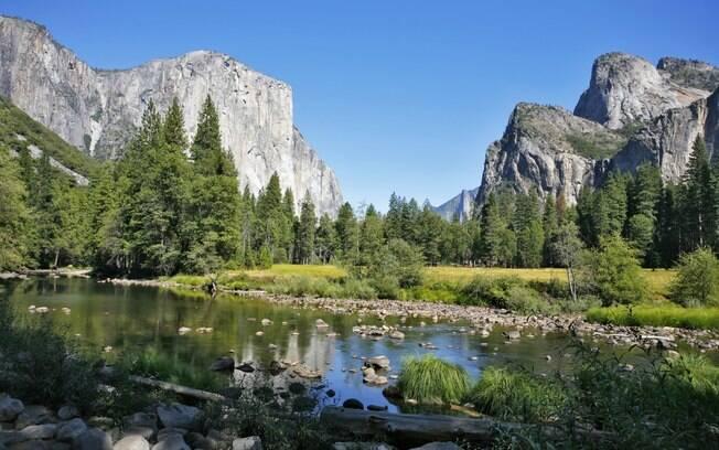 Yosemite é uma das primeiras reservas naturais dos Estados Unidos