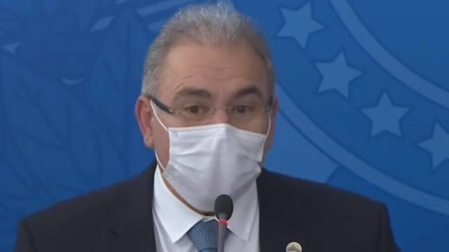 Marcelo Queiroga, ministro da Saúde, recebeu pedido do Procon para barrar reajustes de planos de saúde