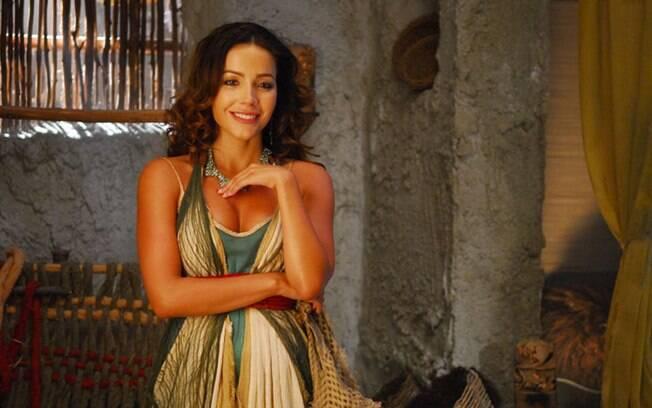 Renata Domingues como Bate-Seba, alvo da paixão desmedida de Davi