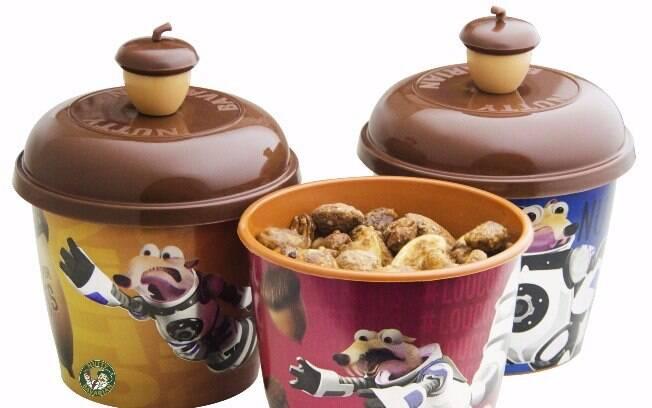 Bowls da Nutty Bavarian foram criados em parceria com a Fox para o lançamento do filme