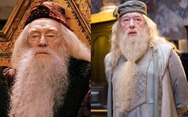 Atores que viveram Albus Dumbledore