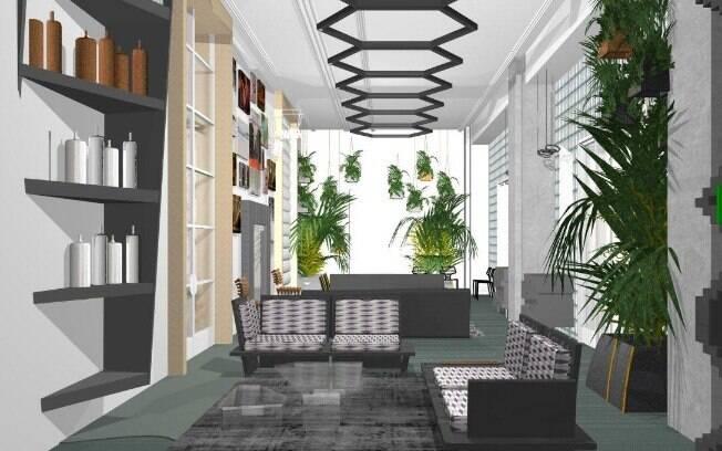 Leo Di Caprio abusa de paredes sem acabamento e espalha obras de arte pelos 190 m² do living