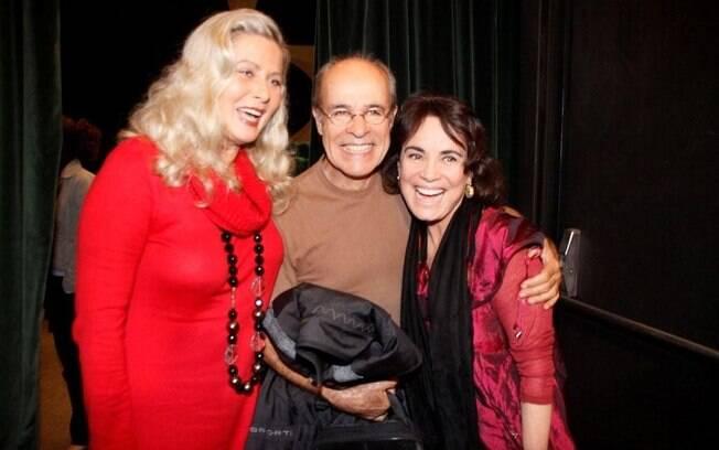 Vera Fischer, Regina Duarte e Osmar Prado