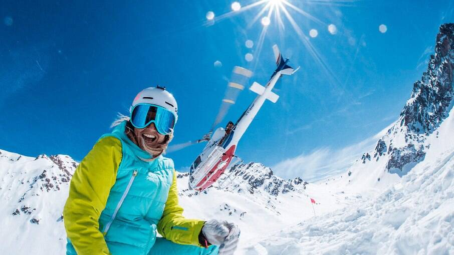 Esquiar faz bem para tratar a ansiedade