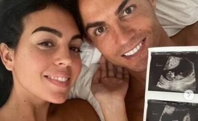 Esposa de Cristiano Ronaldo está grávida de 12 semanas