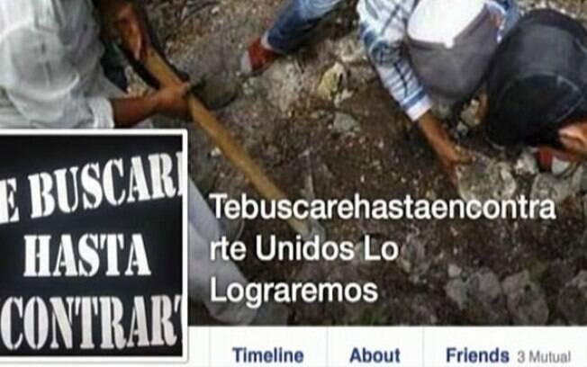 Mexicanos estabelecem grupos no Facebook para buscar por familiares desaparecidos