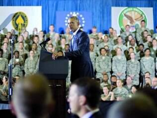 Ação. Presidente Barack Obama reforçou ontem que os EUA não travarão combates em solo no Iraque