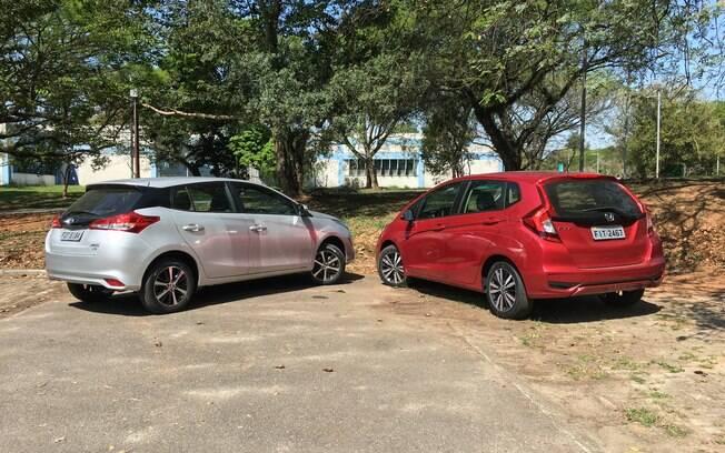 Honda Fit EX L 2019. Foto: Caue Lire/iG Carros