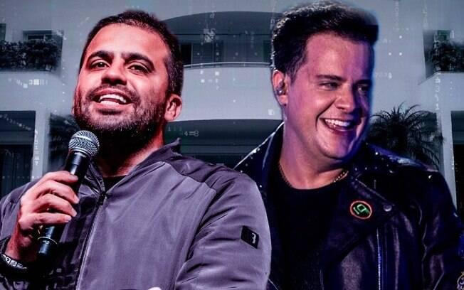 Pablo Marçal e João Neto