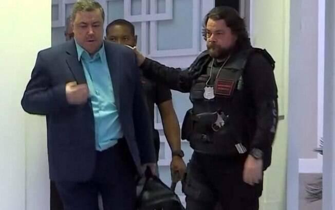 O contador Luiz Felipe da Conceição Rodrigues foi preso em casa, em um condomínio de luxo na Barra