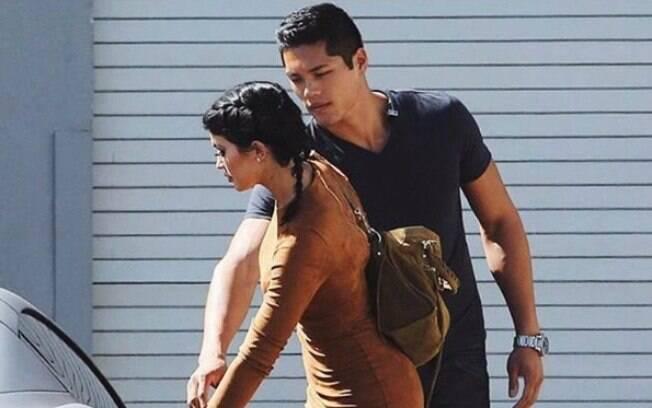 Tim é guarda-costas de Kilye, mas já protegeu outros membros da família, como Kim Kardashian
