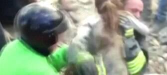 Criança é resgatada após 17 horas sob os escombros; mortos passam de 240 na Itália