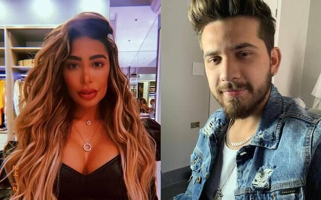 Rafaella Santos e Gustavo Mioto saem com grupo de amigos em meio a boatos de affair