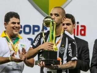 Diego Tardelli foi um dos destaques do Atlético na final da Copa do Brasil