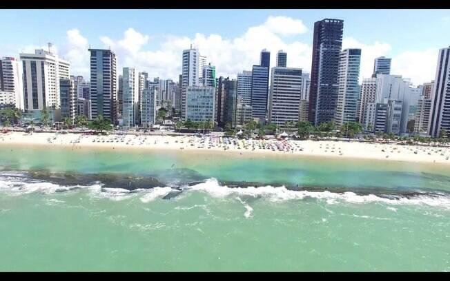 Praia de Boa Viagem é um dos cartões postais de Pernambuco