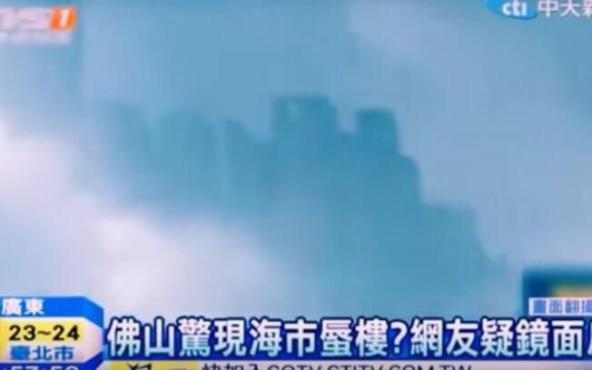 Vídeo mostra 'cidade alienígena'