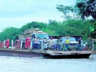 Situação. Baixa vazão de barragens pode compromete o rio São Francisco, no Norte de Minas Gerais
