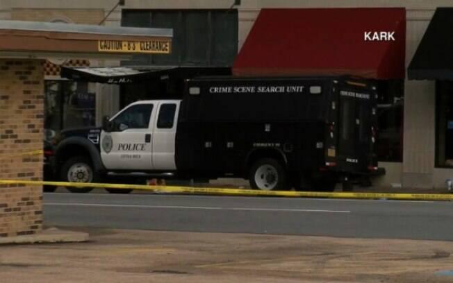 O tiroteio aconteceu na Power Ultra Lounce, uma casa noturna bastante próxima do capitólio do estado de Arkansas