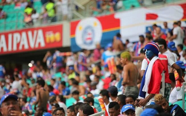 Torcida do Bahia será maioria no Ba-Vi