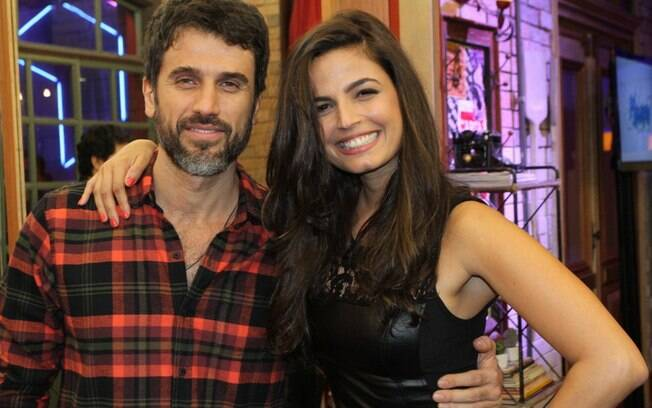 Eriberto Leão e Emanuelle Araújo