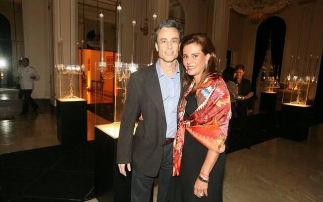 Narcisa Tamborindeguy com o namorado, Guilherme Fiuza