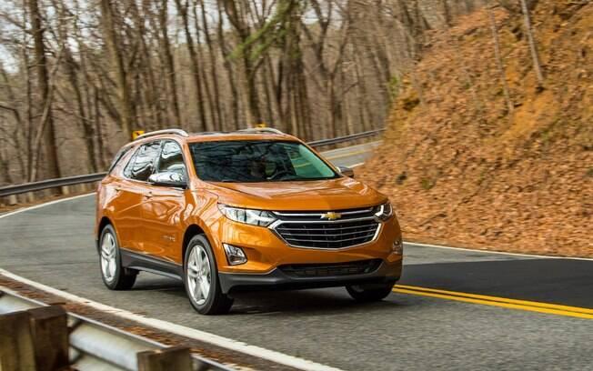 Chevrolet Equinox vem com motor 2.0 turbo, de 262 cv, com câmbio automático de 9 marchas