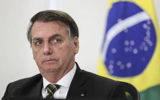 Presidente Jair Bolsonaro vota no Rio de Janeiro