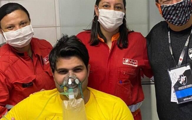 Marcelo Bimbi sofre princípio de infarto