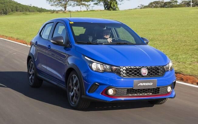 Fiat Argo HGT: a versão mais bem equipada obteve 3,3 estrelas na avaliação do Guia do Carro, e custa R$ 69.990.
