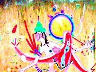 João Maciel apresenta quadros com elementos folclóricos
