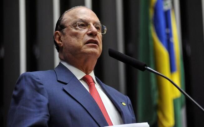 O deputado Paulo Maluf (PP-SP) pouco participou da comissão do impeachment.